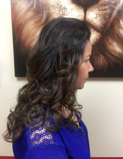 Blend Tape Extensions Curls