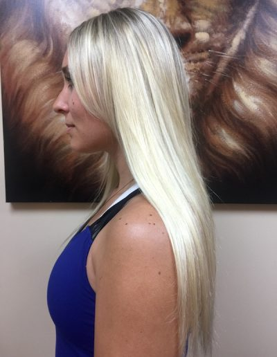 Blend Tape Extensions Blonde
