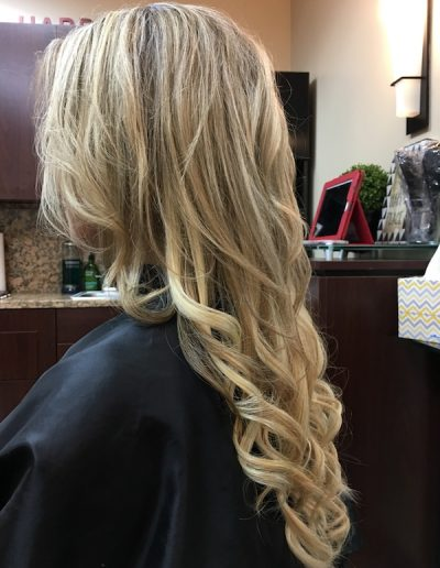 Blend Tape Extensions Wavy Blonde