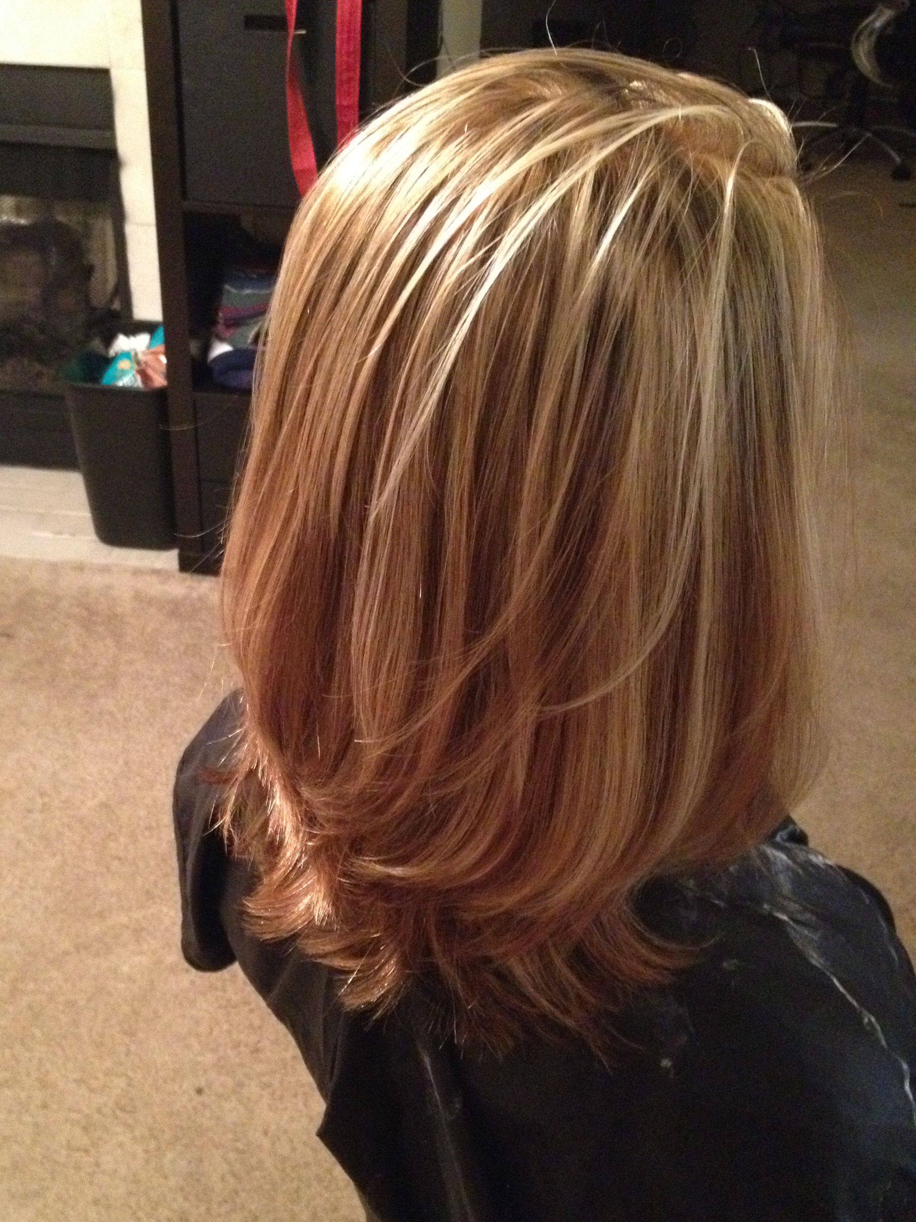 Full Highlight Cut And Blowout October 2013