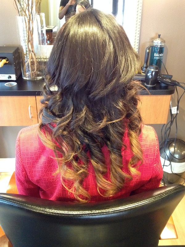 The Press - Wash, Blow Dry, Curl Style