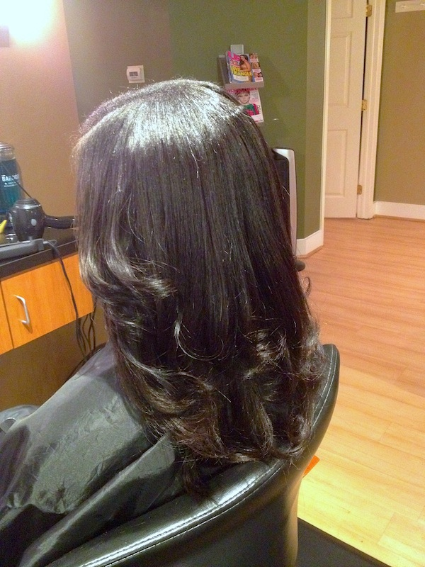 Partial Sew In Weave and Style