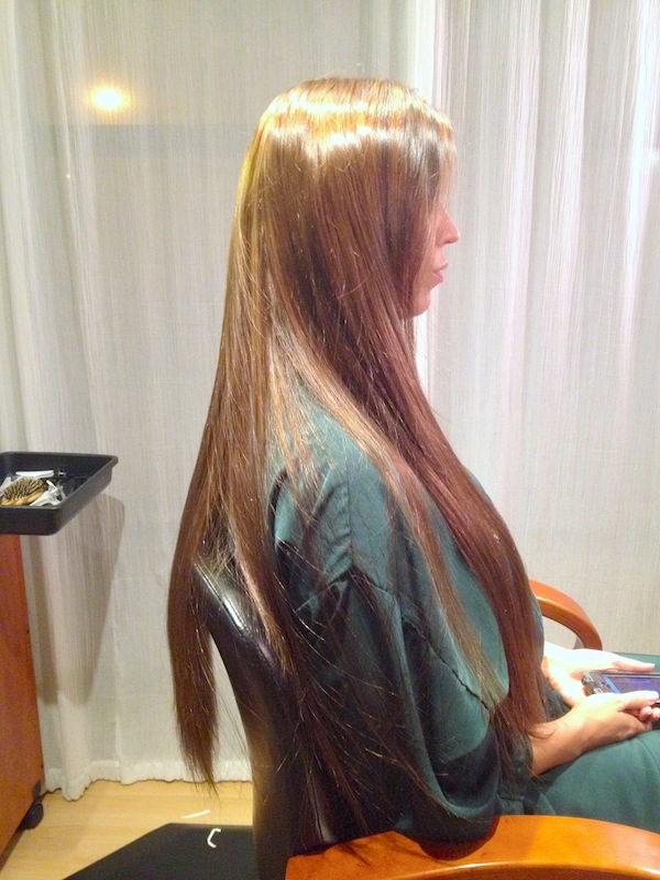 UltraTress Tape Extensions and Blended Highlights
